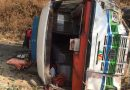 सिन्धुलीको ११ किलो क्षेत्रमा यात्रुबहाक बस  दुर्घटना