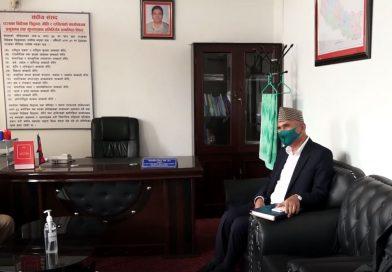 नेपाल समूहको राजीनामा तत्कालका लागि रोकियो