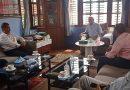 कपा एमालेका अध्यक्ष  केपी शर्मा ओली र नेकपा महासचिव नेत्रविक्रम चन्द्रका नेताबीच भेटबार्ता